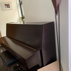 Richter piano met kruk