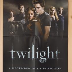 Filmposter Twilight (uit 2008)