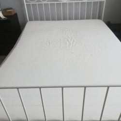HAFSLO Binnenveringsmatras Ikea - middelhard/beige 140x200 cm