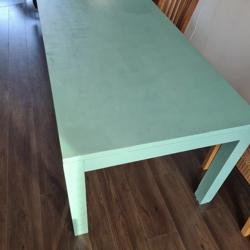 Houten (eetkamer) tafel