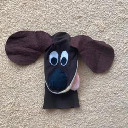 poppenkastpop hond