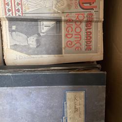 Gebundelde oude tijdschriften vanaf 1903 o.a. Libelle