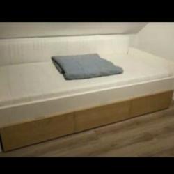 IKEA BED BREKKE 90x200