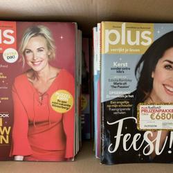 PLUS maandbladen 2016 t/m 2019 aangeboden