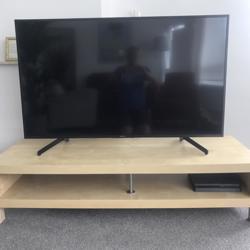 Tv-meubel beuken fineer (Ikea LACK)