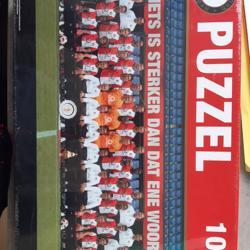 Feyenoord puzzel 1000 stukjes