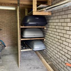 TE HUUR, verschillende afmetingen met dakdragers