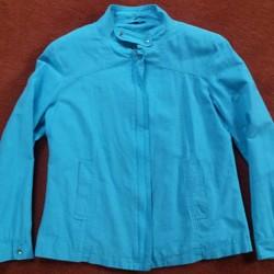 Dames zomerjas fleurig aqua blauw maat 38