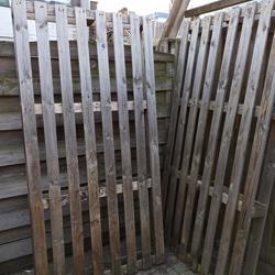 3 houten pallets