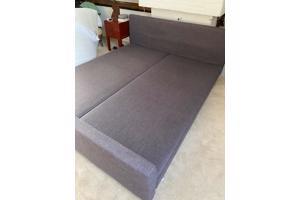 2-persoonsbed met matrassen