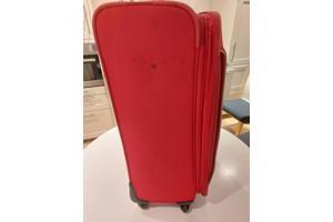 Heel mooie  Samsunite  Reis koffer  Rijbaar  4 wielen
