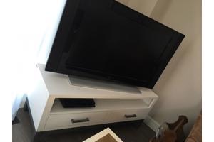 TV kast met 2 lades wit