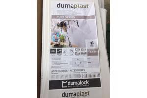 Dumalock platen voor het aanleggen van badkamer of wc