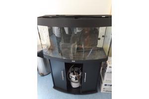 Juwel aqaurium met onderkast en onderdelen