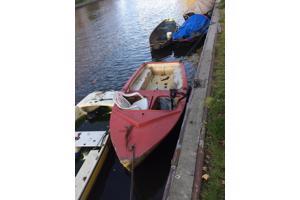 Klein ex-zeilbootje Amsterdam