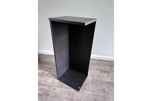 Opzetstuk voor zwartbruine BILLY 80cm