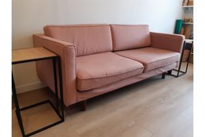 3zits bank roze sofa company