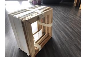 8 complete spieramen voor schilderslinnen 30X30 cm