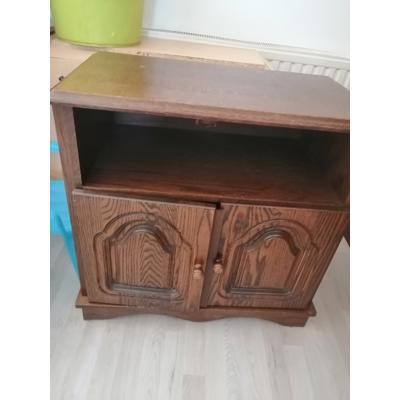 Tv meubel van eikenhout