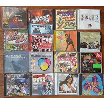 16 cd's pop