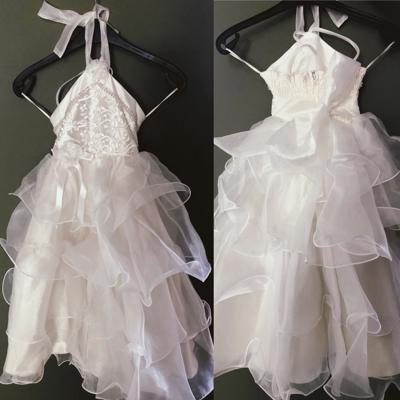 Te koop: Bruidsjurkjes voor meisjes van 3 tot 9 jaar