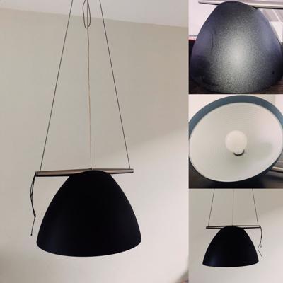 Te koop:  2 Omega hanglampen van Lumina