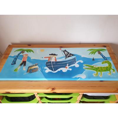 Kinderschilderij Piraten