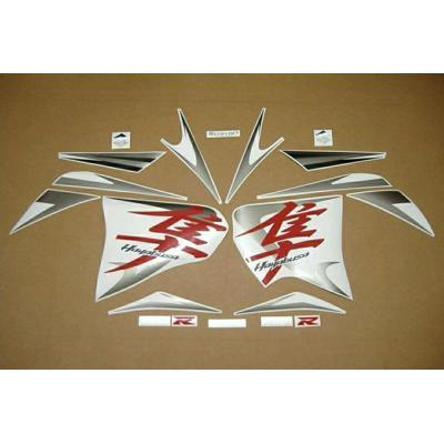 Suzuki Hayabusa fairing decal set