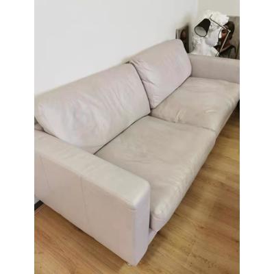 Echte Leer Sofa,  bank