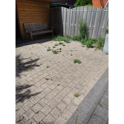 Ca. 20 m2 terras stenen/tegels gratis op te halen