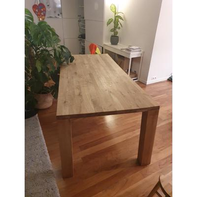 Houten tafel 200x90 cm