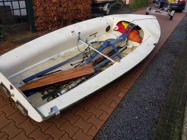 Open zeilboot