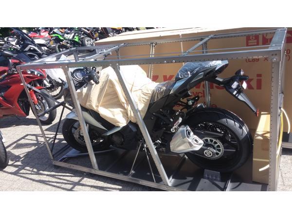 gratis af te halen een metalen motorkooi ook wel transportkooi genoemd.