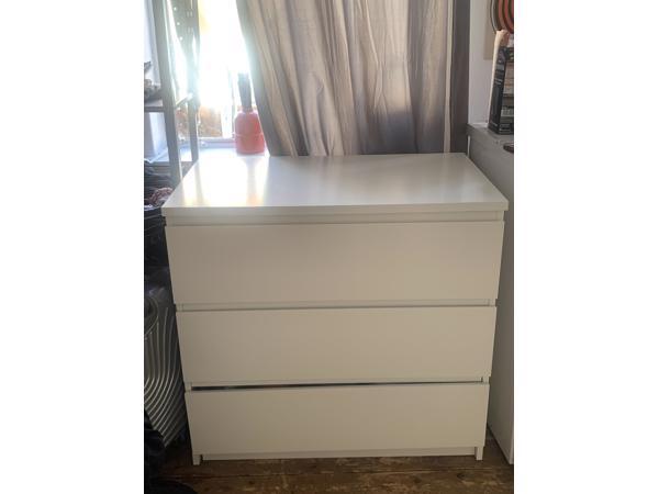 Witte Ladekast Ikea