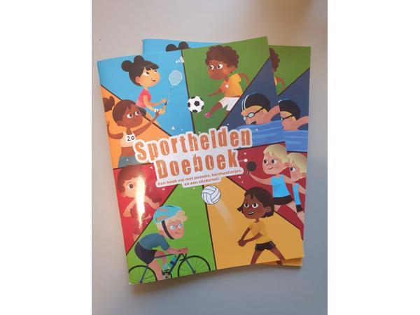 Twee Sporthelden Doeboeken