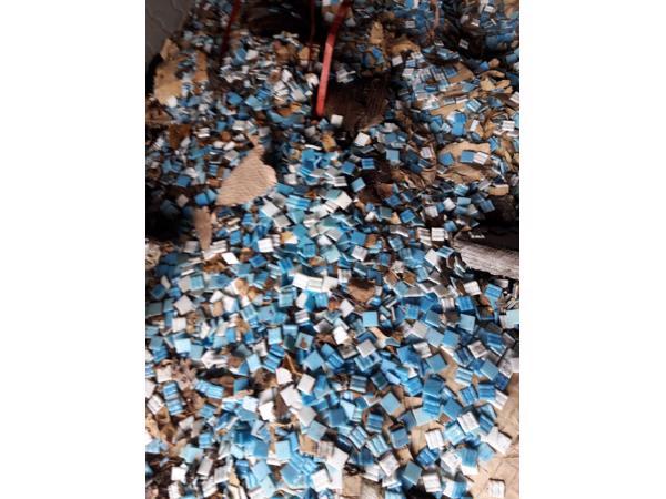 Mozaïek steentjes glas