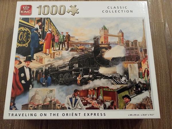 The Oriënt Express.- 1000 stukjes
