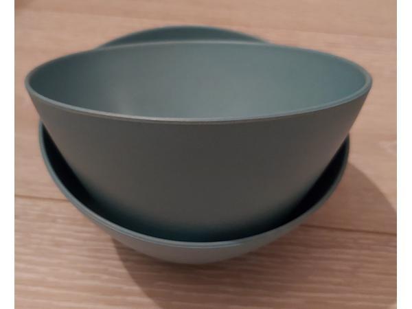 schaal blauw klein 24 cm