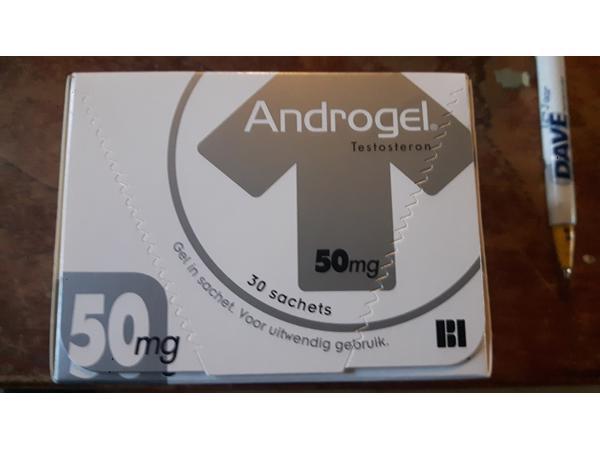 Androgel 50mg per sachet originele doos met 30 sachets
