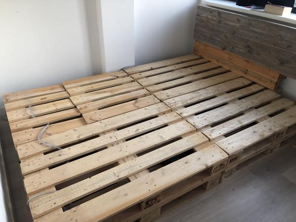 Pallet bed, 160x200/140x200/160/240
