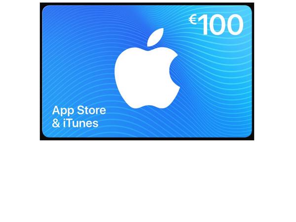 Appstore & iTunes giftcard € 100,-