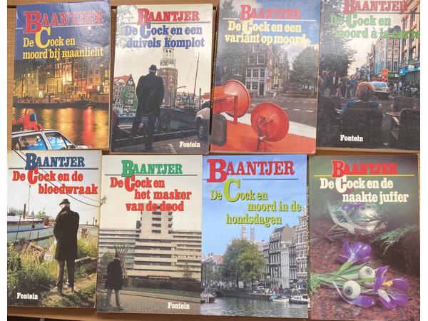 8 mooie Baantjer boeken