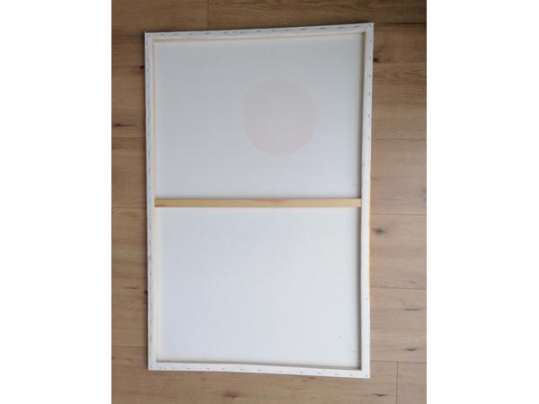 Vrolijk schilderij formaat 75x114 cm