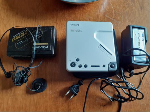 Walkman en draagbare cd speler