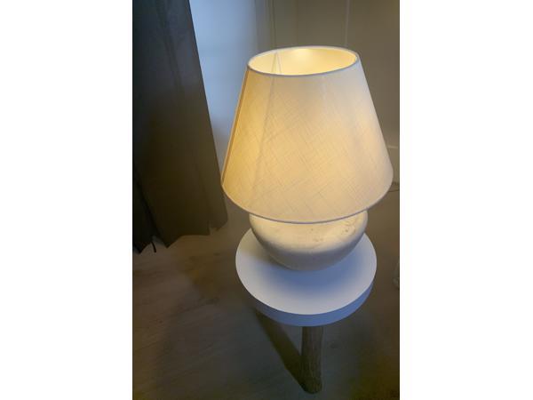 Mooie aardewerk tafellamp