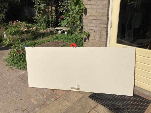 Oude board deur