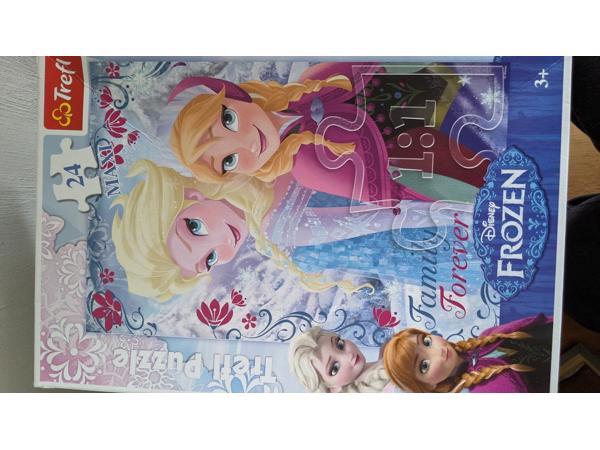 Puzzel Elsa & Anna Frozen