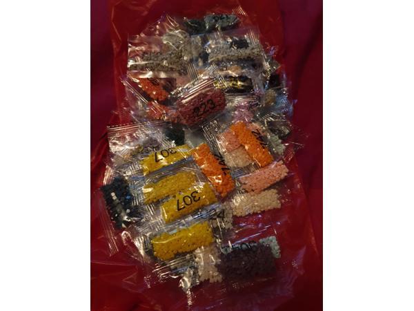Diamondpainting steentjes 0,10 eurocent per zakje
