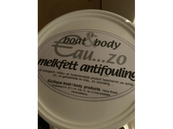 Melkfett antifouling vervanger milieuvriendelijk