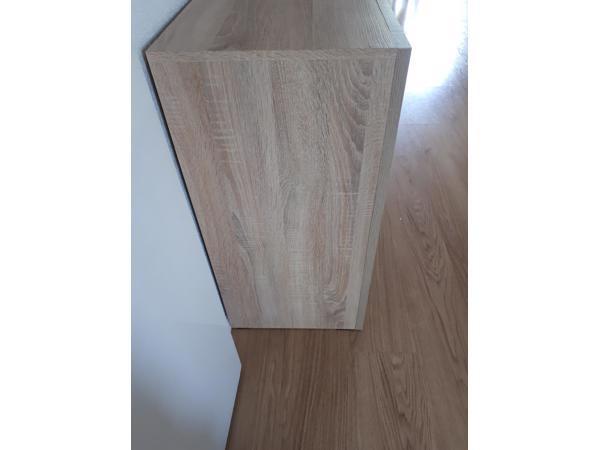 Mooie eiken houten dressoir